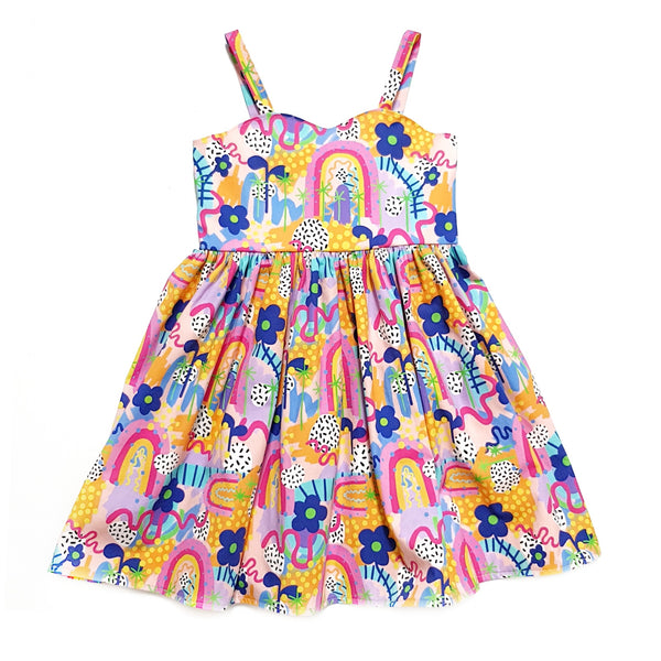 Amelie Dress - Rainbow of Hope