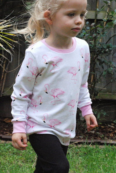 Flamingo Sweater - Size 00 only - Lullaby Riot