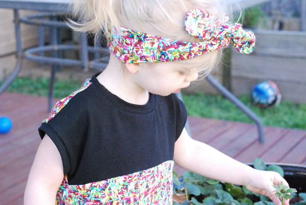 Sprinkles Bow Headband - Lullaby Riot
