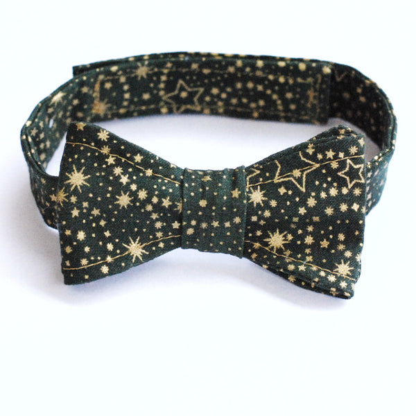 Bow tie - Green and Gold - Lullaby Riot