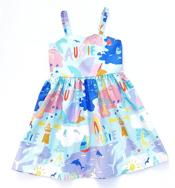 Amelie Aussie Dress - Lullaby Riot