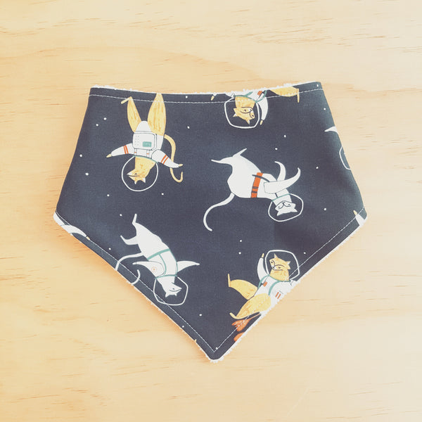Space Cats Bandana Bib - Lullaby Riot