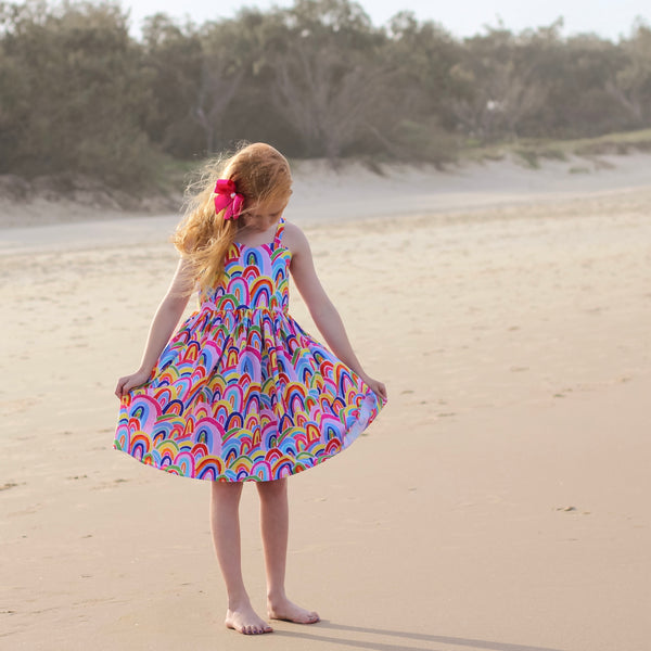 Amelie Dress - RAINBOW