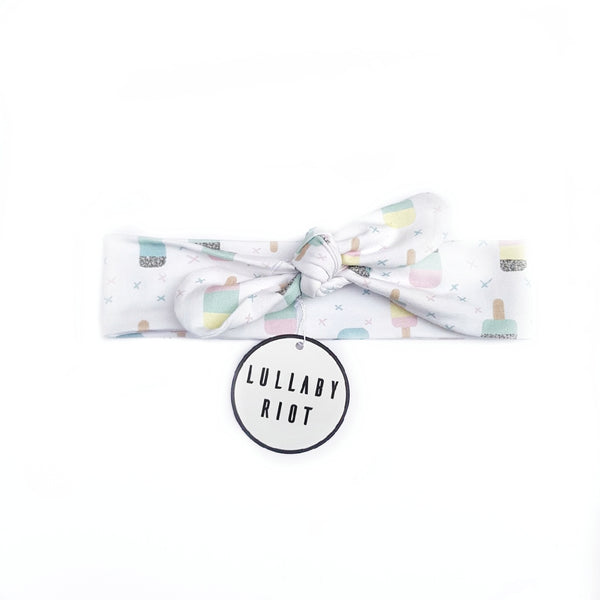 Icecream Bow Headband - Lullaby Riot