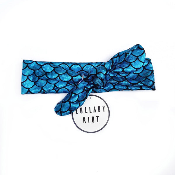 Mermaid Bow Headband - Lullaby Riot