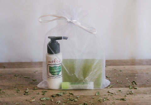 Spearmint Hemp Gift Set