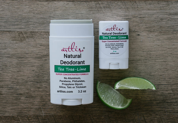 Tea Tree-Lime Deodorant