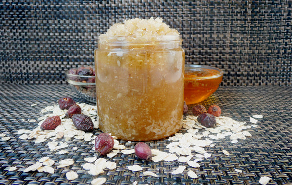 Oatmeal Honey Sugar Scrub - Pure EO Blend (11.2 oz)
