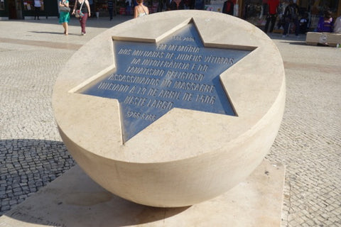 Hommage to Jews killed in Lisbon during the Inquisition