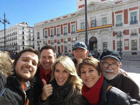12 day Spain vacation package: Clients enjoying Madrid, beginning of their trip