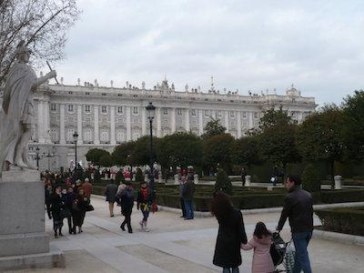 9 day Spain Holiday: Madrid Royal Palace
