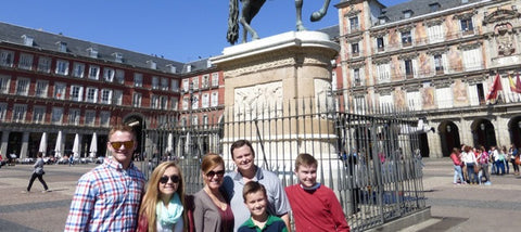 Family tour in Madrid