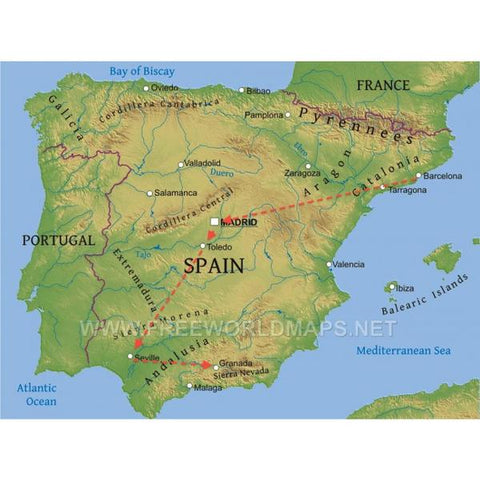 Spain Trip Planner: Spain Trip, Letango Tours
