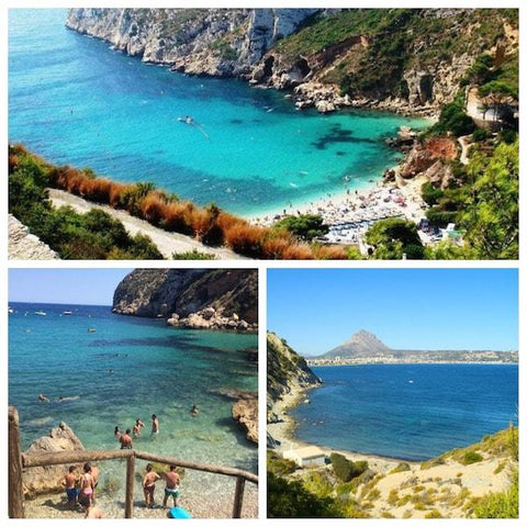 Spanish Mediterranean coast: Coves in Javea, Spain