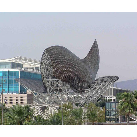 Whale Frank Ghery Barcelona Port Olimpic
