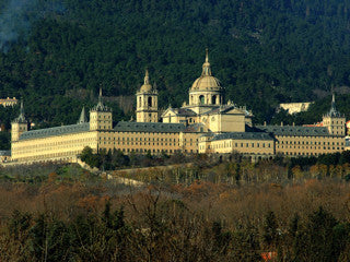 Escorial at night