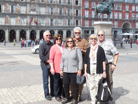 In Plaza Mayor Madrid