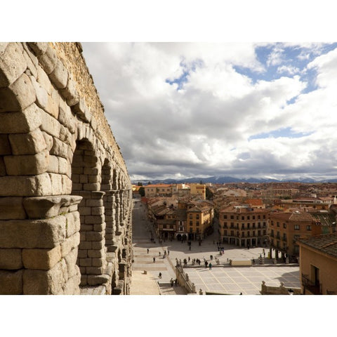 Roman 200o year old acqueduct of Segovia