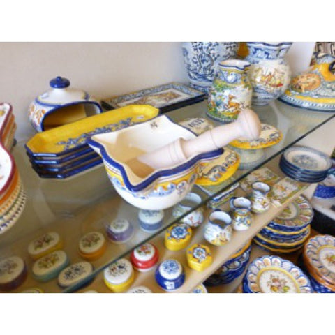 Hand made ceramics from different regions in Spain