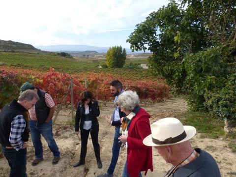 Exploring soil in Rioja