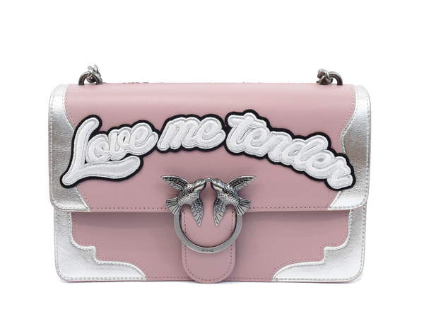 Pinko Love Bag with lettering