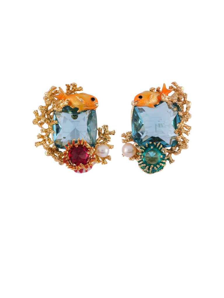 Les Nereides Atlantide Fish Earring