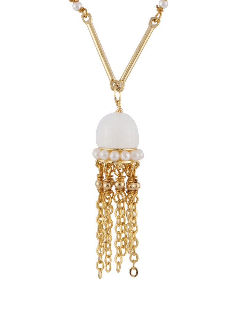 Les Nereides Atlantide Jellyfish Necklace