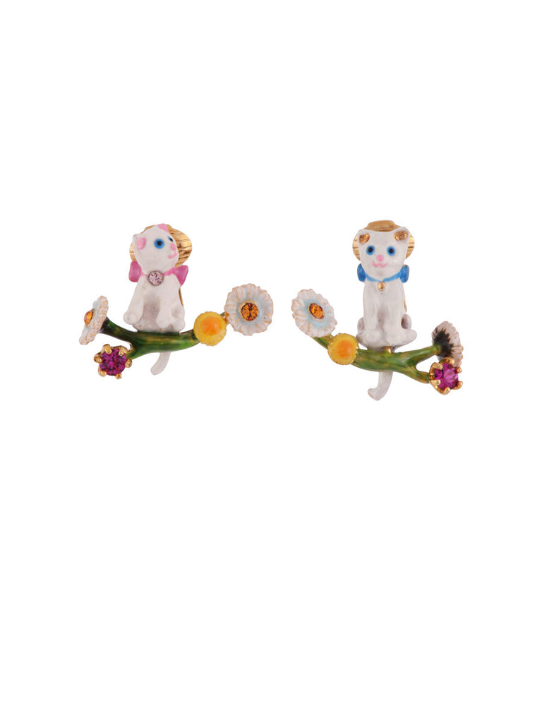 Les Nereides Little Cats Earring