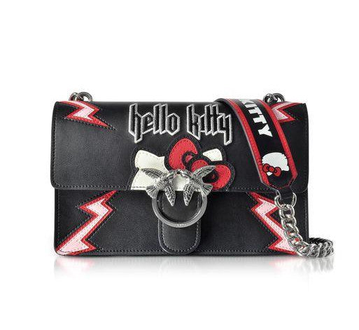 Pinko Hello Kitty Bag- Black