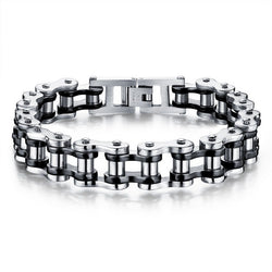 Stainless Steel Bike/Motorcycle Chain Bracelet