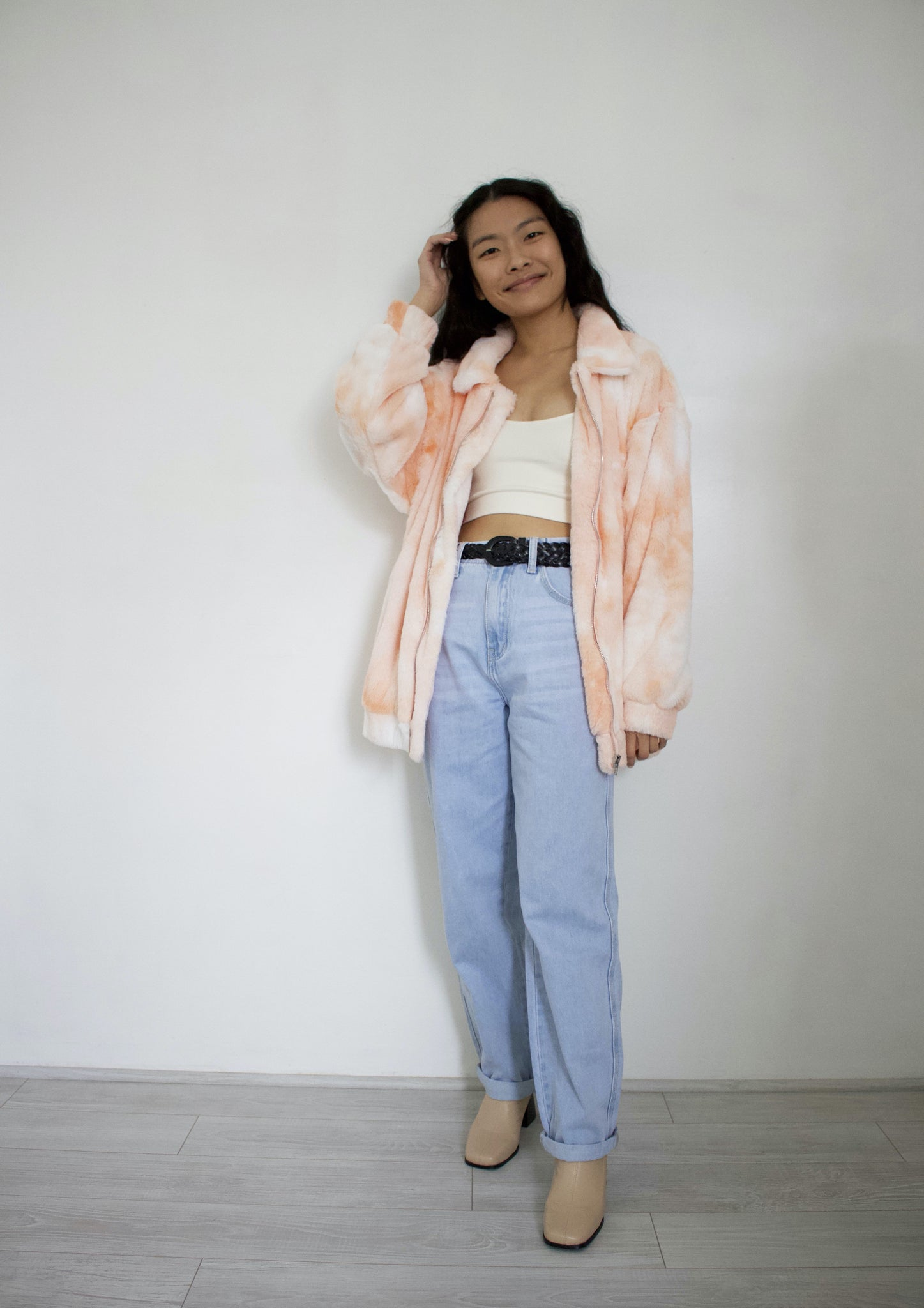 Just Peachy Teddy Jacket