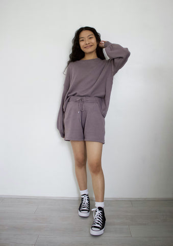 Lavender Grey Cozy Set