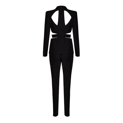 TONI BODYCON SUIT PANT SET