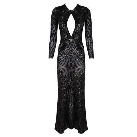 ARMENZIA METALLIC DRESS