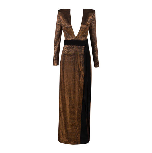 ANTIONETTE BRONZE DRESS