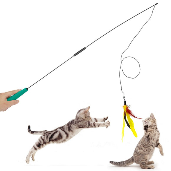 Feather Pet Cat Toy 3 Piece Set