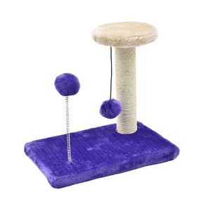 Stylish Cat Scratching Post Ball Toy