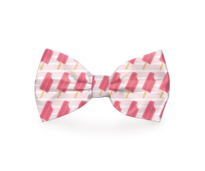 """Ice Pup"" Ice Pop Dog Bow Tie"