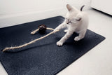 Yoga Cat Mat with Twine and Catnip Ball Toy