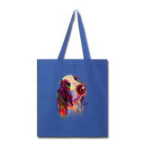Hand painted bassethound Tote Bag