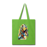 Hand painted bassethound-Tote Bag