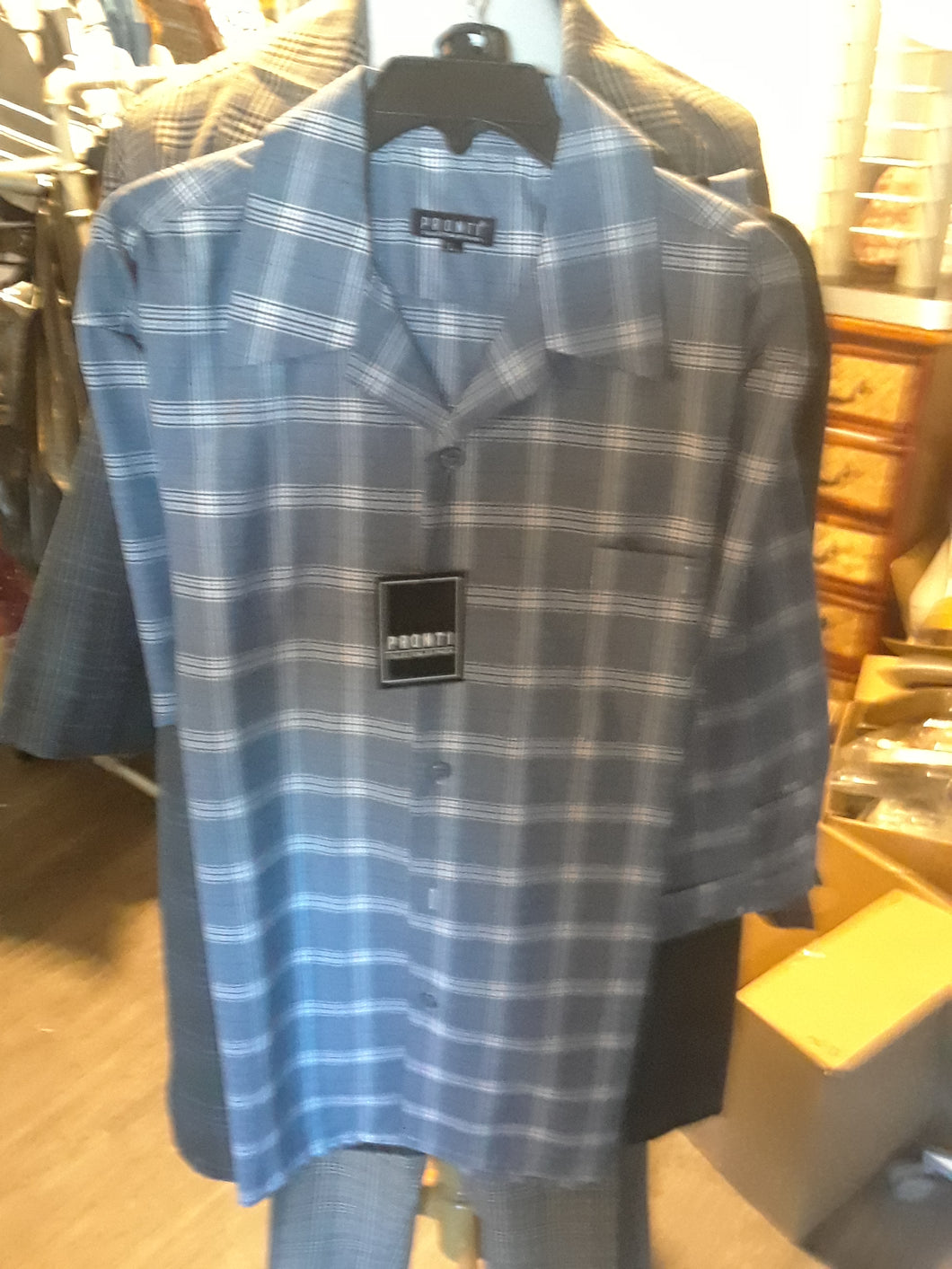 End of summer walking suits short sleeve