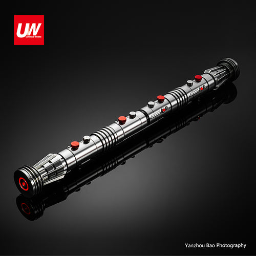 IN STOCK NOW !UW DM SABER INSTALLED NP /EMPTY HILTS (FOR PAIR)