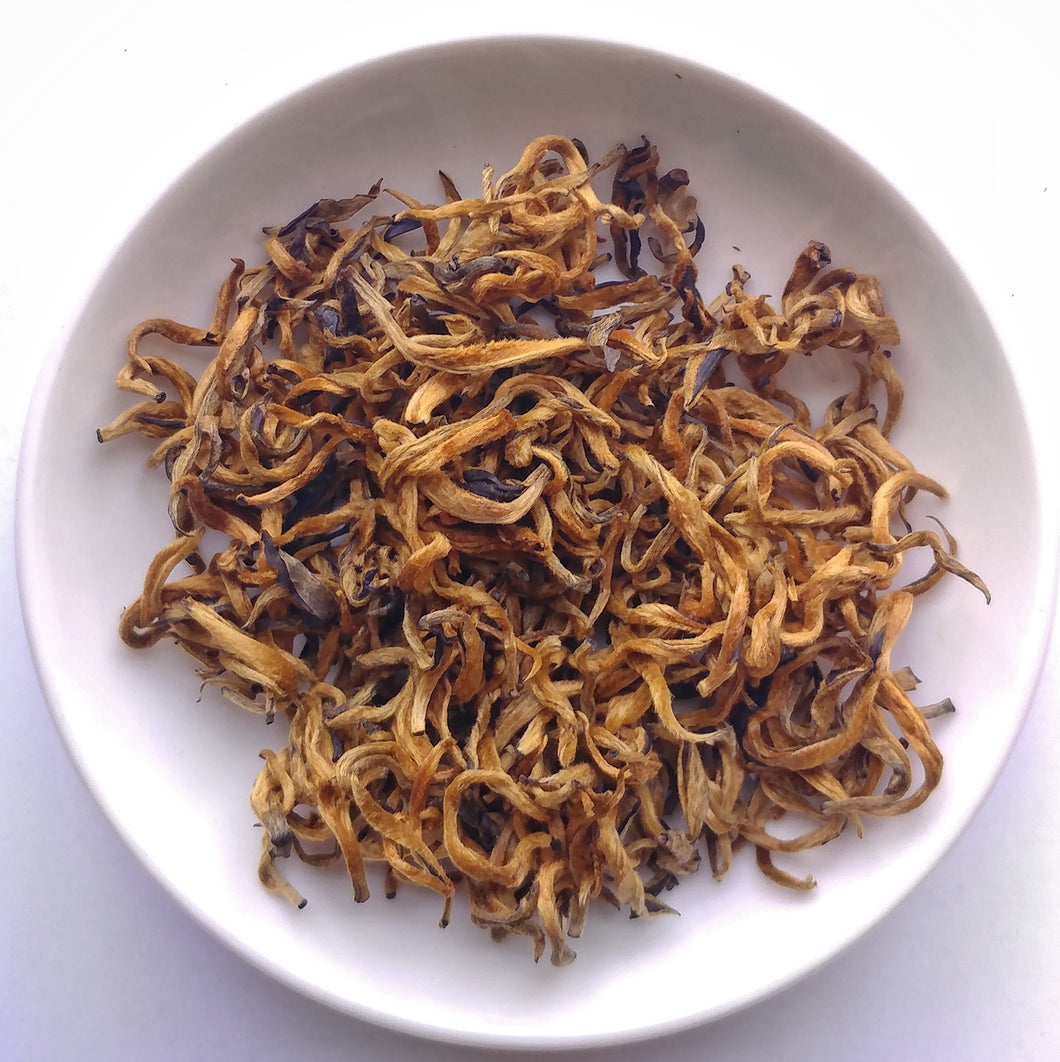 Imperial Golden Bud Black Tea of Mojiang - Sparrowtail Teas