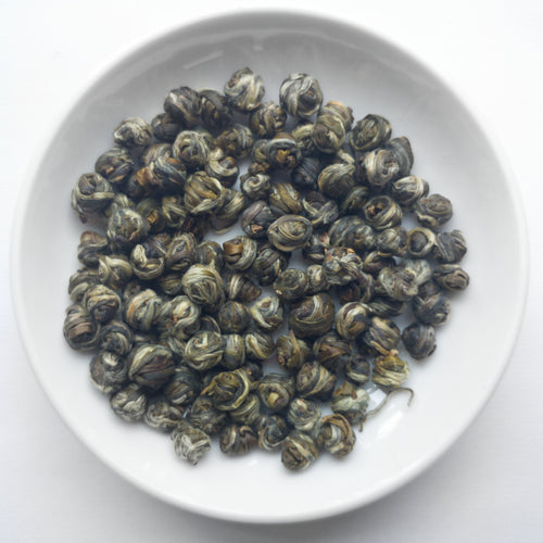 Imperial Jasmine Pearls Certified Organic Green Tea - Sparrowtail Teas