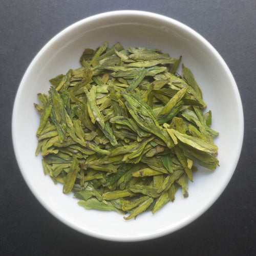 Premium Dragonwell Long Jing Green Tea - Sparrowtail Teas