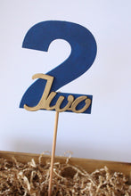"Number ""2"" Birthday Wooden Photo Prop"