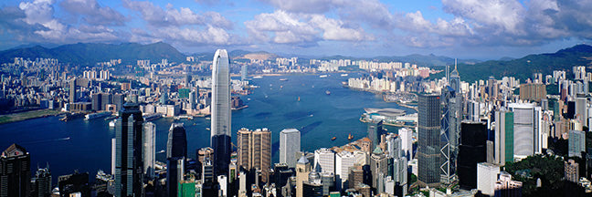 Victoria Harbour, Hong Kong (Taken from The Peak)