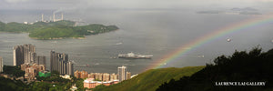 Liaoning Province visiting Hong Kong (Taken from The Peak)