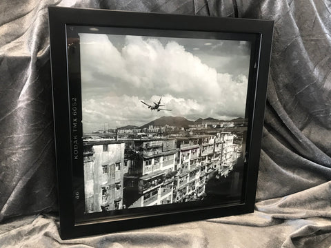 Fedex MD11 Landing to Kai Tak Airport, Kowloon City, Hong Kong 1998